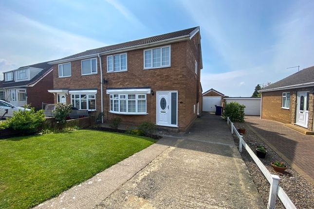 Thumbnail Semi-detached house for sale in Meadowlands Close, Easington, Saltburn-By-The-Sea