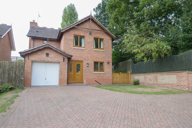 Thumbnail Detached house for sale in Aviemore Close, New Whittington, Chesterfield