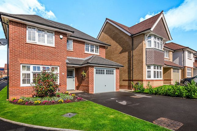 Thumbnail Detached house for sale in Bonnington Close, Worsley, Manchester