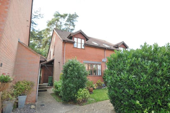 Thumbnail Terraced house to rent in Maguire Drive, Frimley, Camberley