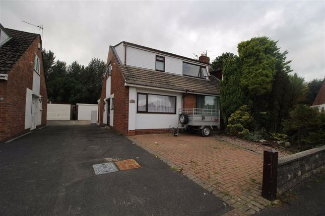 Thumbnail Semi-detached house to rent in Roundway Down, Fulwood, Preston