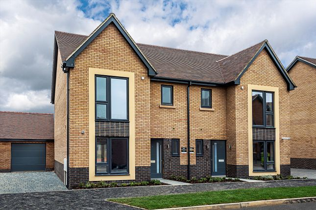 Thumbnail Semi-detached house for sale in Loxley Road, Stratford-Upon-Avon, Warwickshire CV37.