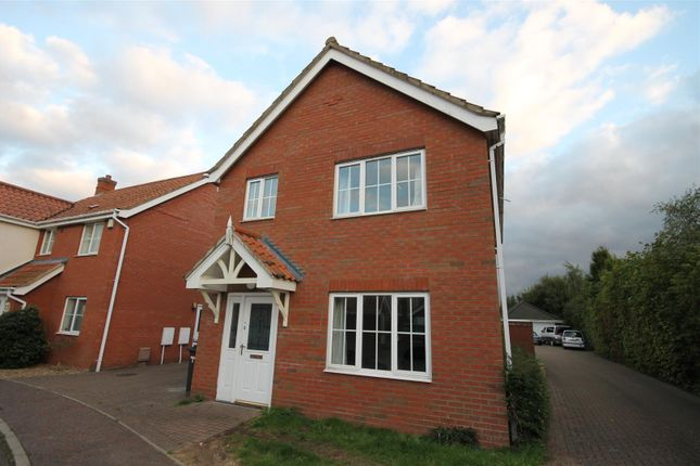 Thumbnail Detached house to rent in Swallow Tail Close, Norwich