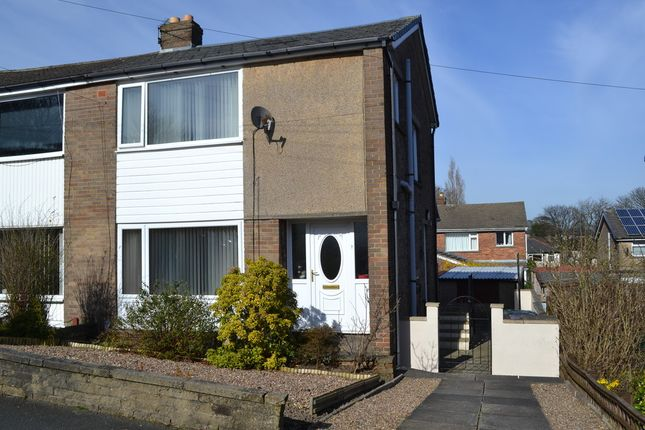 Thumbnail Semi-detached house for sale in St. Abbs Drive, Low Moor, Bradford