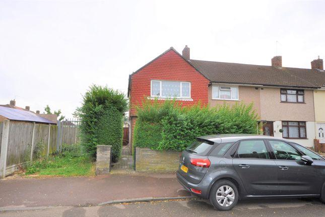 Thumbnail End terrace house for sale in Boyne Road, Dagenham