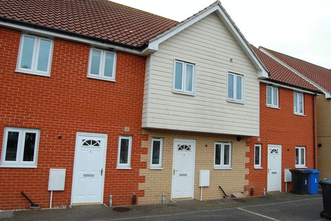 Thumbnail Terraced house for sale in Maidenhall Approach, Ipswich