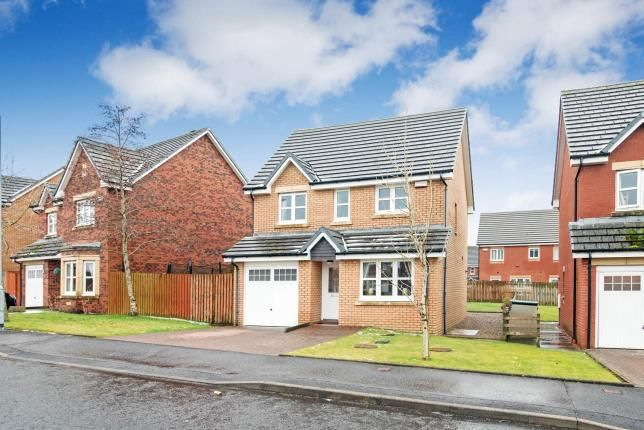 Thumbnail Detached house for sale in Fernlea Avenue, Mauchline, East Ayrshire