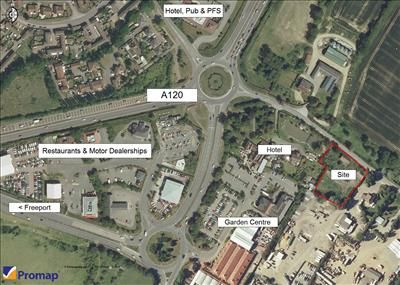 Thumbnail Land for sale in Long Green, Nr A120 (Galleys Corner), Braintree, Essex