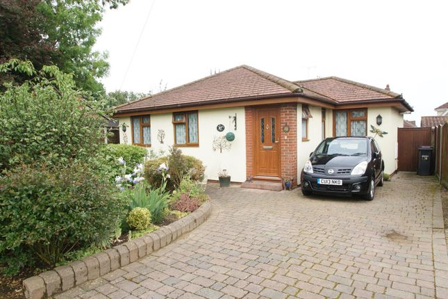 Thumbnail Detached bungalow for sale in Richmond Drive, Rayleigh
