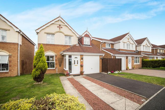 Thumbnail Detached house for sale in Longhirst Drive, Cramlington