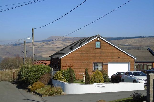 Thumbnail Detached bungalow for sale in Heol Y Maes, Coelbren, Neath