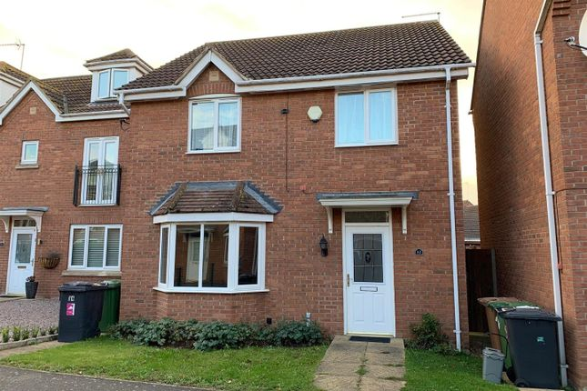 Thumbnail Detached house to rent in Reedland Way, Hampton Vale, Peterborough