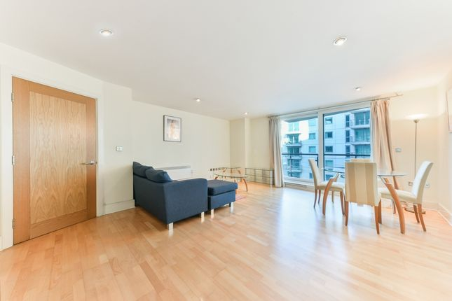 Living Area of Drake House, St George Wharf, Vauxhall SW8
