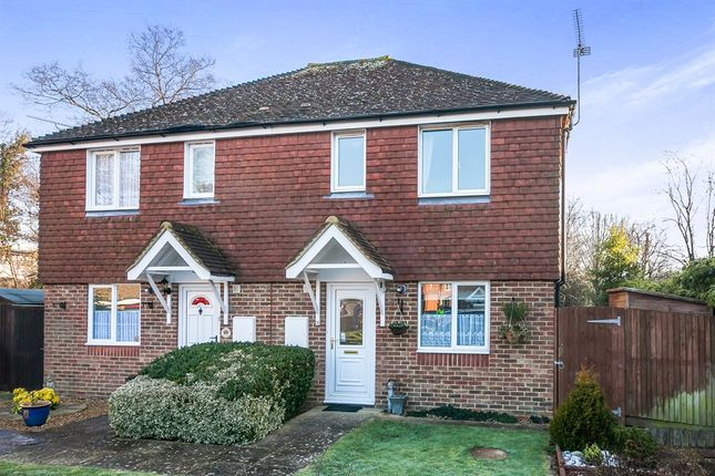Thumbnail Semi-detached house for sale in Payton Drive, Burgess Hill