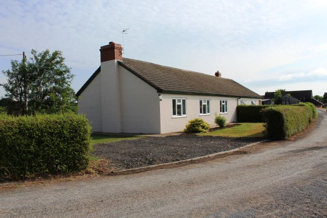 Thumbnail Semi-detached bungalow to rent in The Bungalows, Wichenford, Worcester, Worcestershire