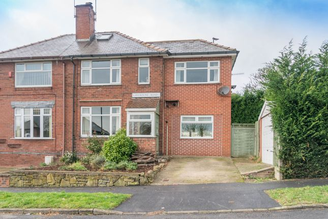 Thumbnail Semi-detached house for sale in Laverdene Road, Totley Rise, Sheffield