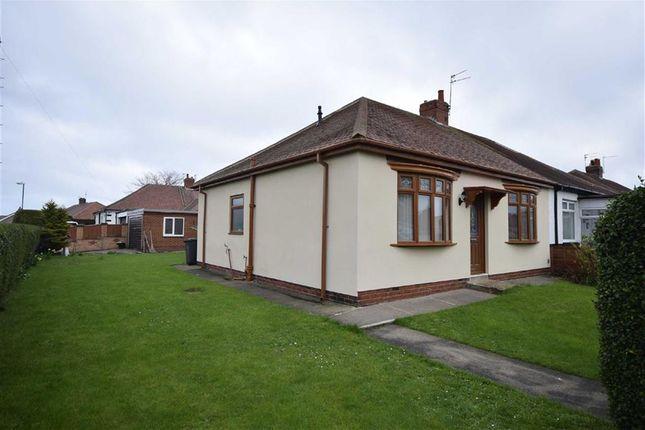 Thumbnail Semi-detached bungalow for sale in Fairholme Avenue, South Shields
