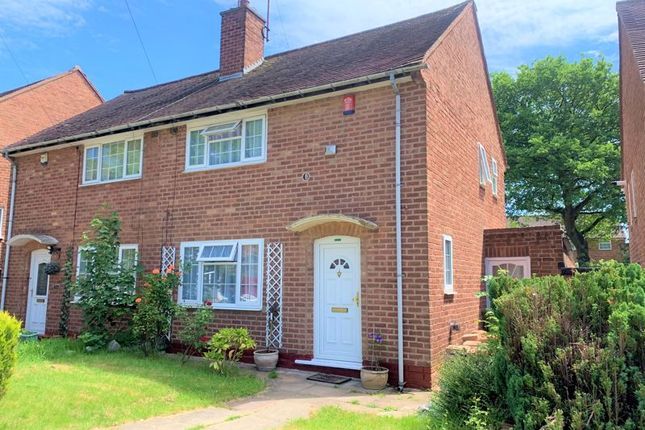 Thumbnail Semi-detached house for sale in Ferncliffe Road, Harborne, Birmingham