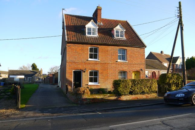 Thumbnail Semi-detached house for sale in Glemsford, Sudbury, Suffolk