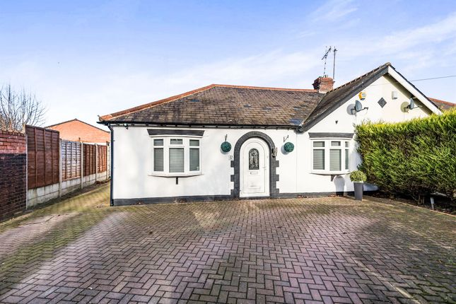 Thumbnail Semi-detached bungalow for sale in Park Crescent, West Bromwich
