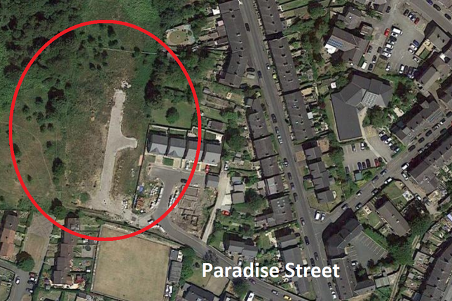 Thumbnail Land for sale in Paradise Street, Hadfield, Glossop, Derbyshire