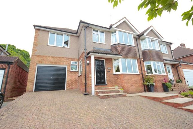 Thumbnail Semi-detached house to rent in Croham Valley Road, South Croydon