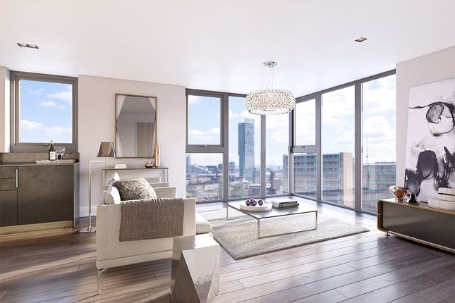 Thumbnail Flat for sale in Woden St, Manchester