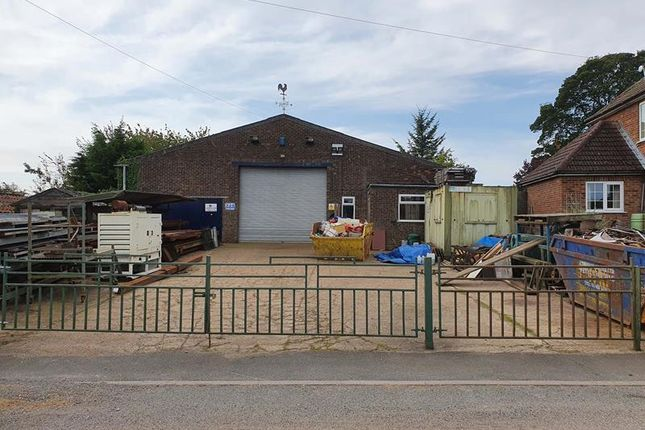 Thumbnail Light industrial to let in Workshop, Swallow Road, Thorganby, Grimsby