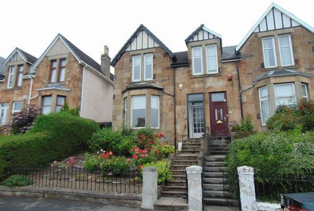 Thumbnail Semi-detached house to rent in Jedburgh Avenue, Rutherglen, Glasgow