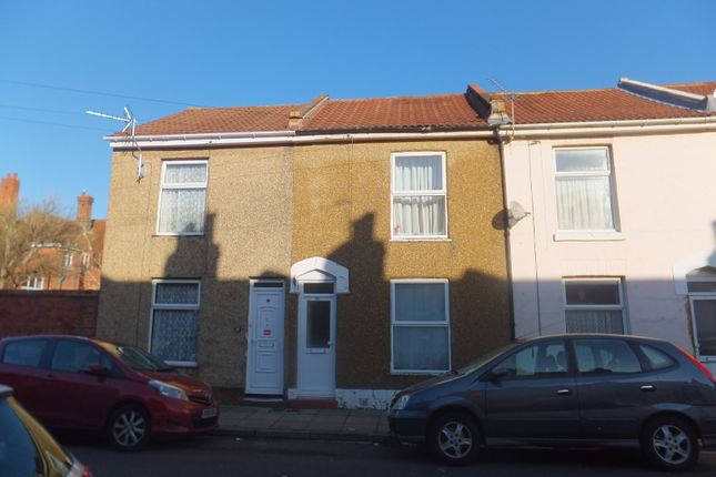 Thumbnail Terraced house to rent in Collingwood Road, Southsea, Portsmouth