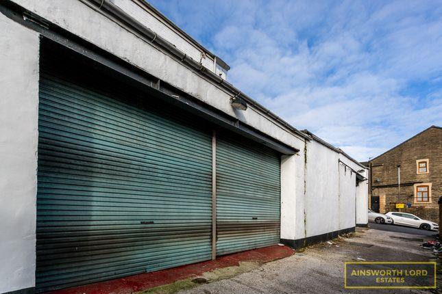 Thumbnail Commercial property for sale in Marina Garage Workshop & House, Bastwell, Blackburn