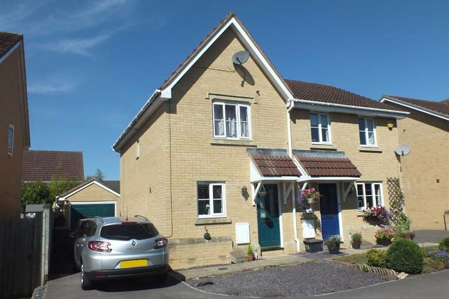 Thumbnail Semi-detached house to rent in Spring Meadows, Trowbridge, Wiltshire