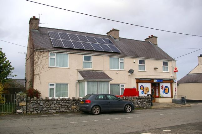 Thumbnail Retail premises for sale in Llangaffo, Anglesey