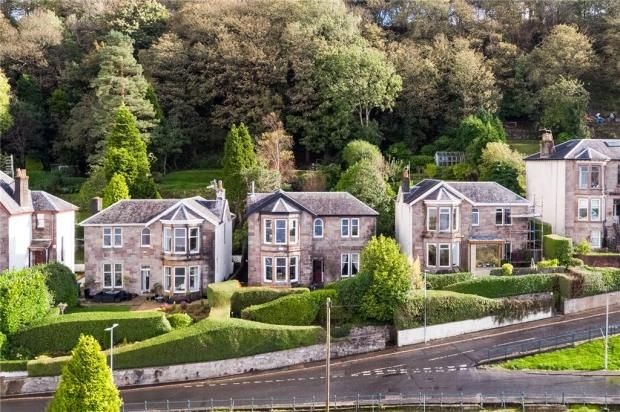 Thumbnail 4 bed detached house for sale in Tower Drive, Gourock, Inverclyde
