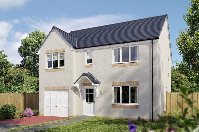 """Thumbnail Detached house for sale in """"The Thornwood """" at Arthurs Way, Haddington"""