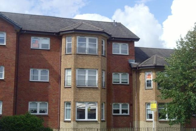Thumbnail Flat to rent in Auchenstewart Court, Wishaw