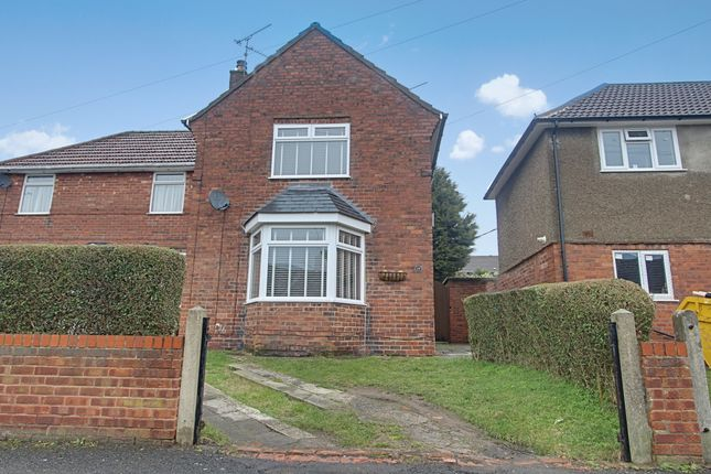 Thumbnail Semi-detached house for sale in Aberconway Street, Blidworth, Mansfield