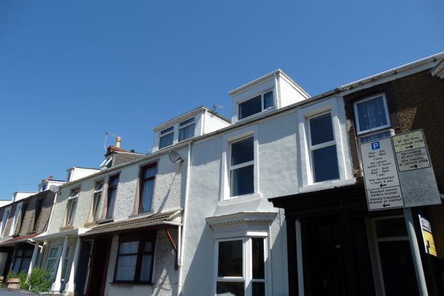 Thumbnail Terraced house to rent in Henrietta Street, Swansea