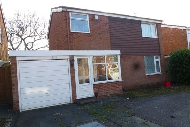 Thumbnail Detached house to rent in Overton Close, Hall Green, Birmingham