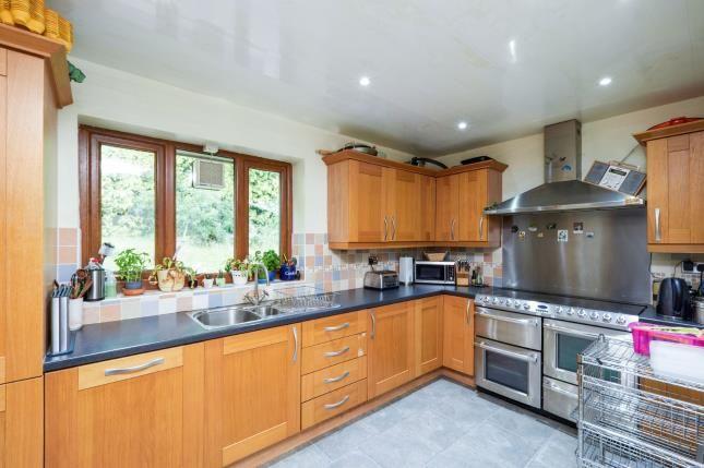 Kitchen of John Street, Higher Heyrod, Stalybridge, Greater Manchester SK15