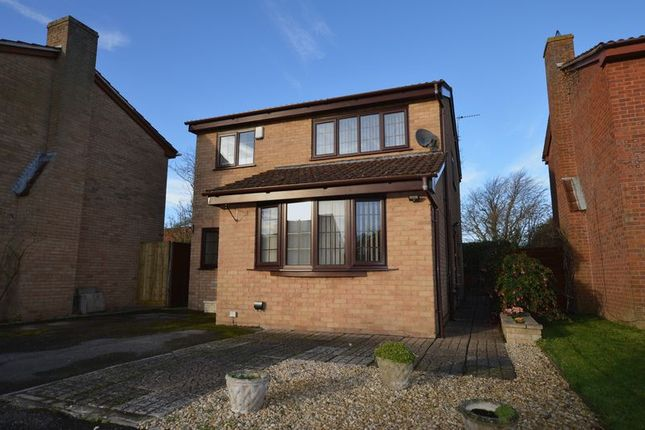 Thumbnail Detached house for sale in Grove Road, West Huntspill, Highbridge