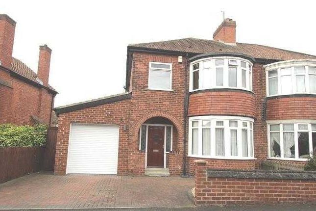 Thumbnail Semi-detached house for sale in Cypress Crescent, Blyth
