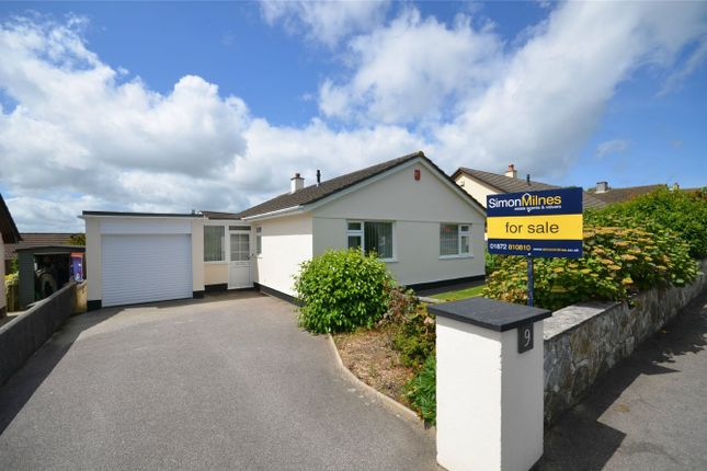 Thumbnail Detached bungalow for sale in Lamellyn Drive, Truro, Cornwall