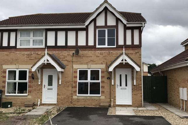 Thumbnail Semi-detached house to rent in Eaton Crescent, Taunton, Somerset