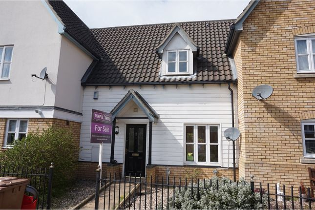 Thumbnail Terraced house for sale in Lysander Drive, Ipswich