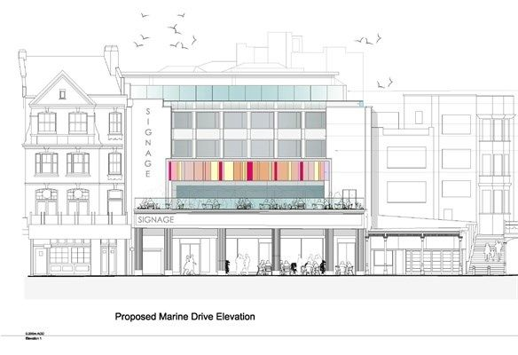 Thumbnail Commercial property for sale in Marine Drive And High Street, Margate