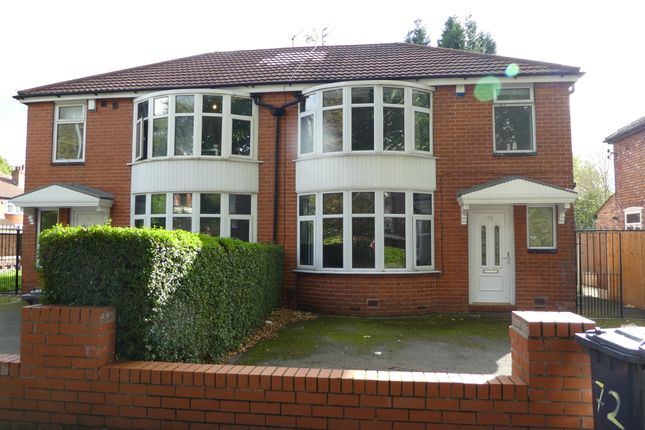 12 bed semi-detached house to rent in Mauldeth Road, Withington, Manchester M20