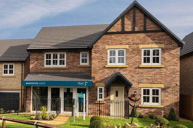 "Thumbnail Detached house for sale in ""Masterton"" at Thirsk Road, Kirklevington, Yarm"