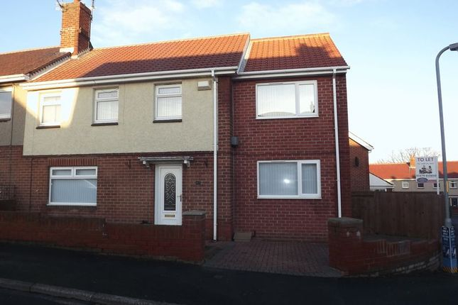 Thumbnail Semi-detached house for sale in Woodlea, Newbiggin-By-The-Sea