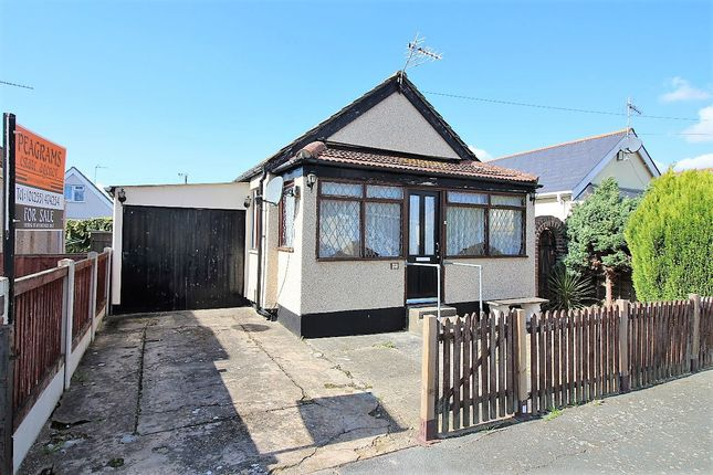 Thumbnail Detached bungalow for sale in Glebe Way, Jaywick Sands, Clacton On Sea